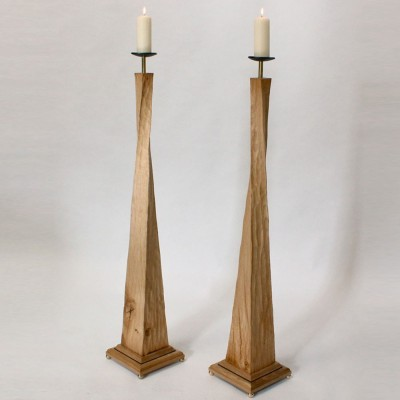 Wooden Candle S..