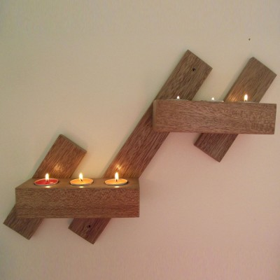 Wooden Candle H..